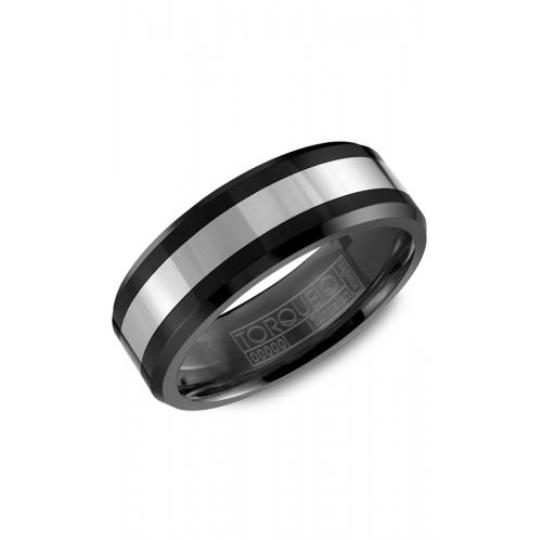 Torque Black Ceramic Wedding band TU-0031 product image