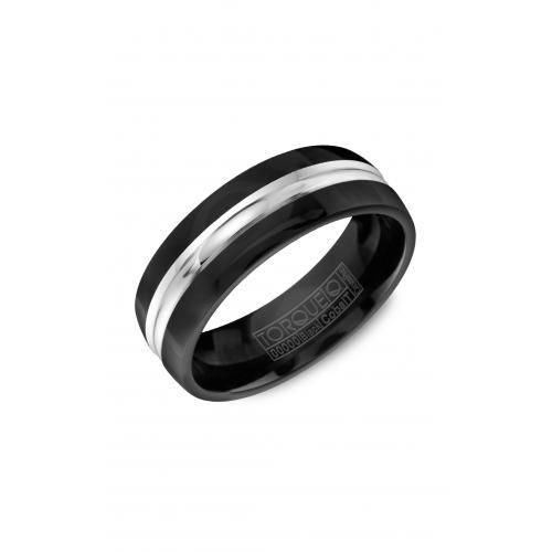 Torque Black Cobalt Wedding band CBB-7008 product image
