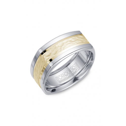 Torque Cobalt and Gold Wedding band CW052MY9 product image