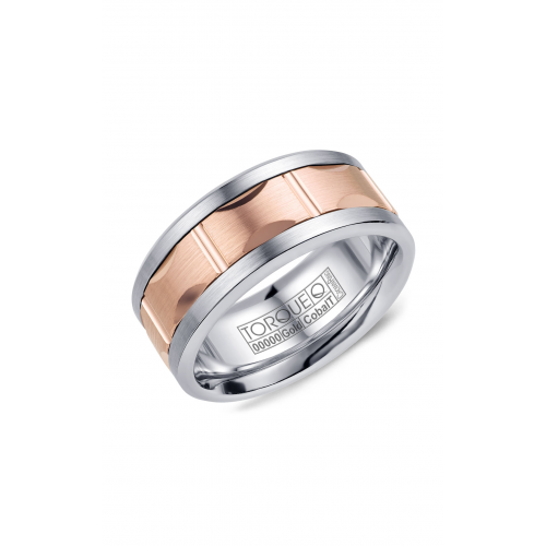 Torque Cobalt and Gold Wedding band CW103MR9 product image