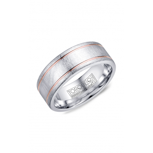 Torque Cobalt and Gold Wedding band CW106MR8 product image