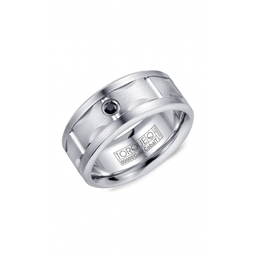 Torque Cobalt and Gold Wedding band CW107MW9 product image