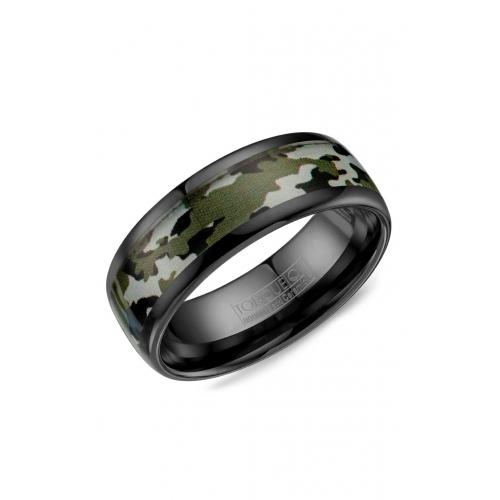 Torque Black Ceramic Wedding band BCE-0002 product image