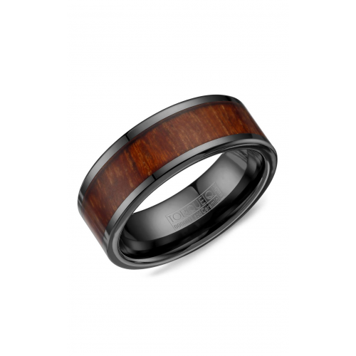 Torque Black Ceramic Wedding band BCE-0003 product image