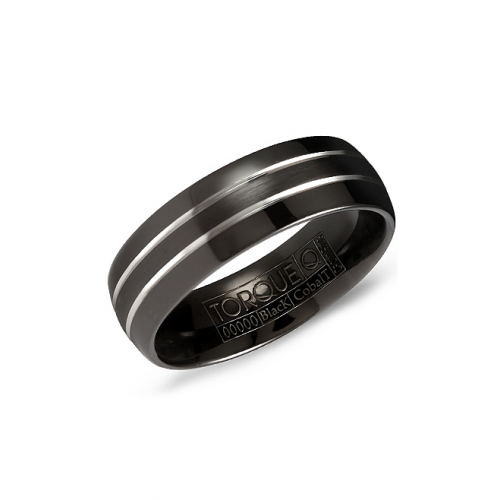 Torque Black Cobalt Wedding band CBB-7033 product image