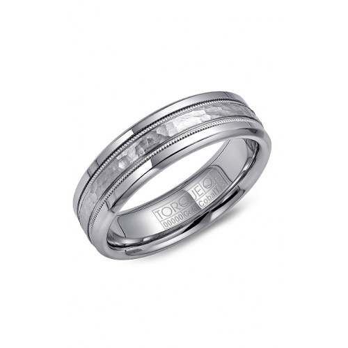Torque Cobalt and Gold Wedding band CW003MW6 product image