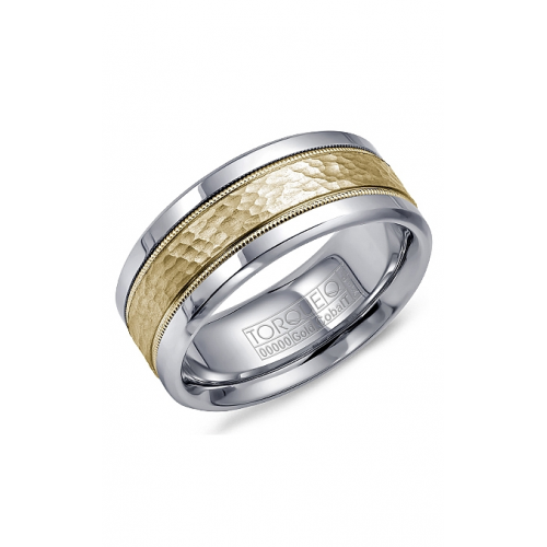 Torque Cobalt and Gold Wedding band CW003MY9 product image