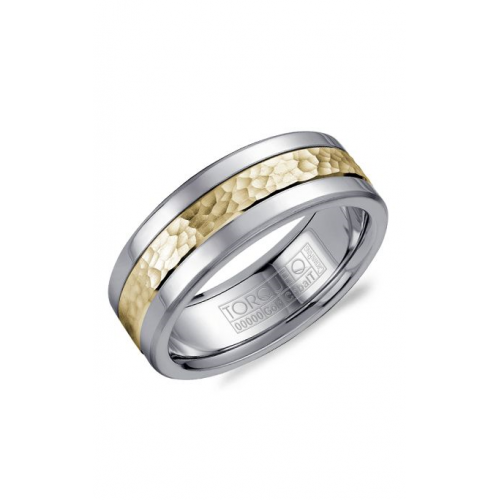 Torque Cobalt and Gold Wedding band CW005MY75 product image