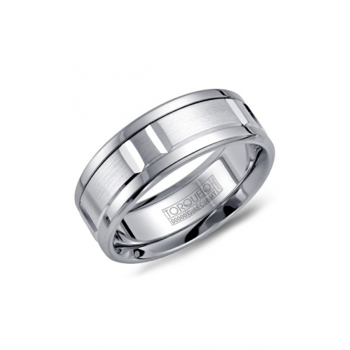 Torque Cobalt and Gold Wedding band CW011MW75 product image