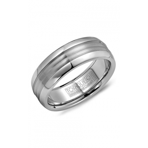 Torque Cobalt and Gold Wedding band CW024MW75 product image