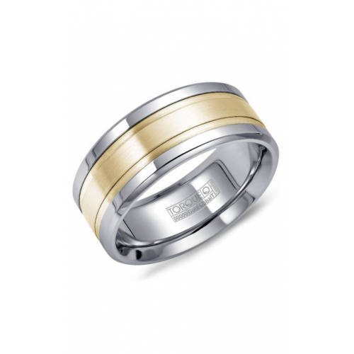 Torque Cobalt and Gold Wedding band CW028MY9 product image