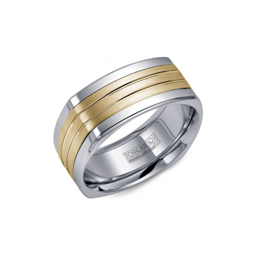 Torque Cobalt and Gold Wedding band CW061MY9 product image