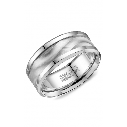 Torque Cobalt and Gold Wedding band CW113MW9 product image