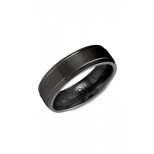 Torque Black Cobalt Wedding band CBB-7015 product image