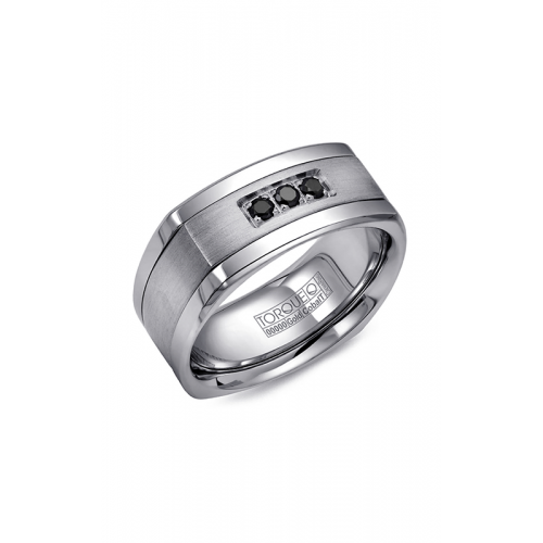 Torque Cobalt and Gold Wedding band CW053MW9 product image