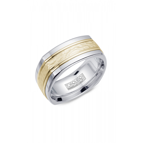 Torque Cobalt and Gold Wedding band CW060MY9 product image