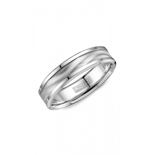 Torque Cobalt and Gold Wedding band CW113MW6 product image