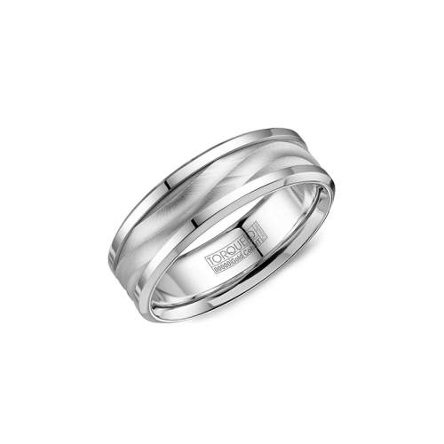 Torque Cobalt and Gold Wedding band CW113MW75 product image