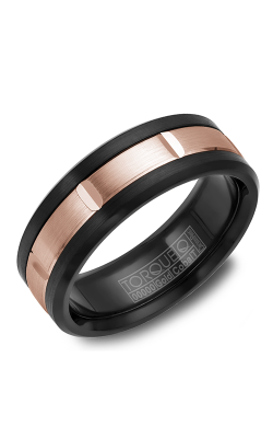 Torque Cobalt And Precious Metals Wedding Band CB002-75 product image