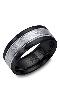 Torque Cobalt And Precious Metals Wedding Band CB003MW9 product image