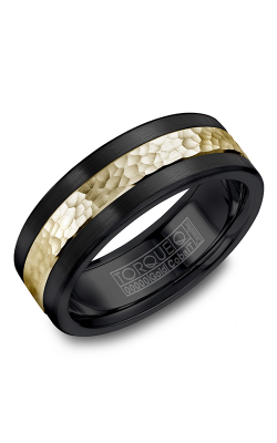 Torque Cobalt and Precious Metals Wedding band CB005MY75 product image