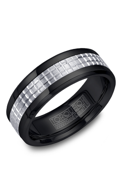 Torque Cobalt And Precious Metals Wedding Band CB009MW75 product image