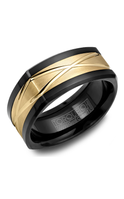 Torque Cobalt And Precious Metals Wedding Band CB077MY9 product image