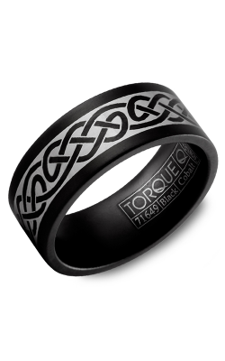 Torque Black Cobalt Wedding Band CBB-9000-53 product image