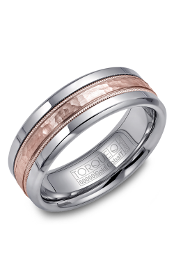 Torque Cobalt And Precious Metals Wedding Band CW003MR75 product image