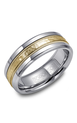 Torque Cobalt and Precious Metals Wedding band CW003MY75 product image