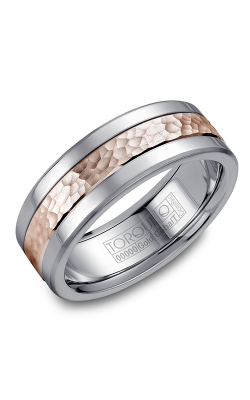 Torque Cobalt And Precious Metals Wedding Band CW005MR75 product image