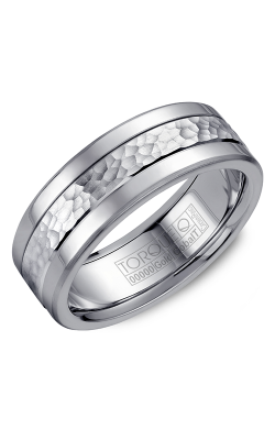 Torque Cobalt And Precious Metals Wedding Band CW005MW75 product image