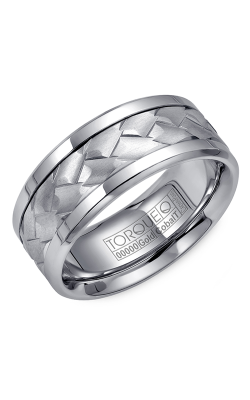 Torque Cobalt And Precious Metals Wedding Band CW006MW9 product image