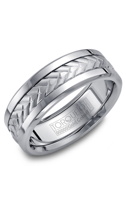 Torque Cobalt And Precious Metals Wedding Band CW007MW75 product image