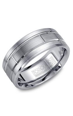 Torque Cobalt And Precious Metals Wedding Band CW008MW9 product image