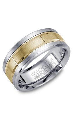 Torque Cobalt And Precious Metals Wedding Band CW008MY9 product image