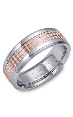 Torque Cobalt And Precious Metals Wedding Band CW009MR75 product image