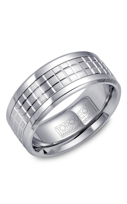 Torque Cobalt And Precious Metals Wedding Band CW009MW9 product image