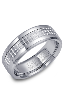 Torque Cobalt And Precious Metals Wedding Band CW009MW75 product image
