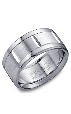 Torque Cobalt And Precious Metals Wedding Band CW010MW105 product image