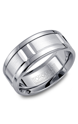 Torque Cobalt And Precious Metals Wedding Band CW011MW9 product image