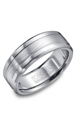 Torque Cobalt And Precious Metals Wedding Band CW014MW75 product image