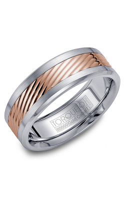 Torque Cobalt And Precious Metals Wedding Band CW015MR75 product image