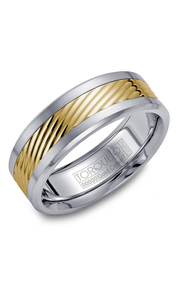 Torque Cobalt And Precious Metals Wedding Band CW015MY75 product image