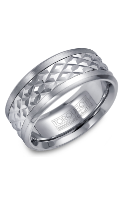 Torque Cobalt And Precious Metals Wedding Band CW017MW9 product image