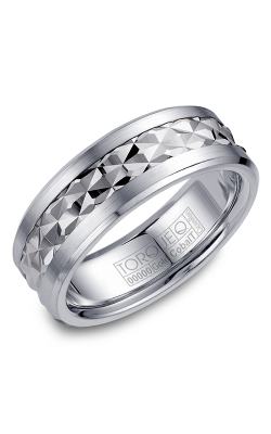 Torque Cobalt And Precious Metals Wedding Band CW017MW75 product image