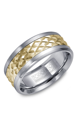 Torque Cobalt And Precious Metals Wedding Band CW017MY9 product image