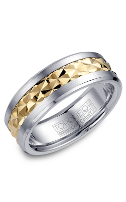 Torque Cobalt And Precious Metals Wedding Band CW017MY75 product image