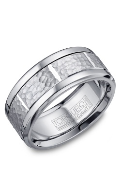 Torque Cobalt And Precious Metals Wedding Band CW018MW9 product image