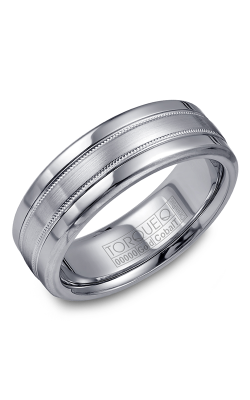 Torque Cobalt And Precious Metals Wedding Band CW020MW75 product image